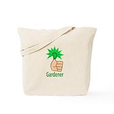 Green Thumb Gardener Tote Bag