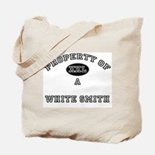 Property of a White Smith Tote Bag