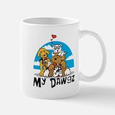 My Dawgz (Dogs) Mug