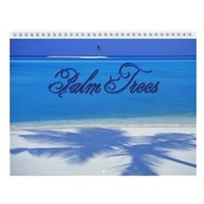 Palm Tree Wall Calendar