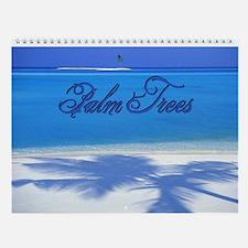 Palm Tree Wall Calendar