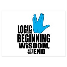 Spock Logic Invitations