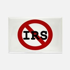 No IRS Rectangle Magnet