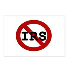 No IRS Postcards (Package of 8)