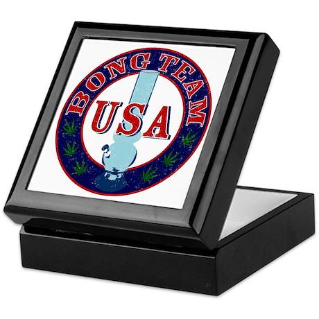 USA Bong Team Keepsake Box