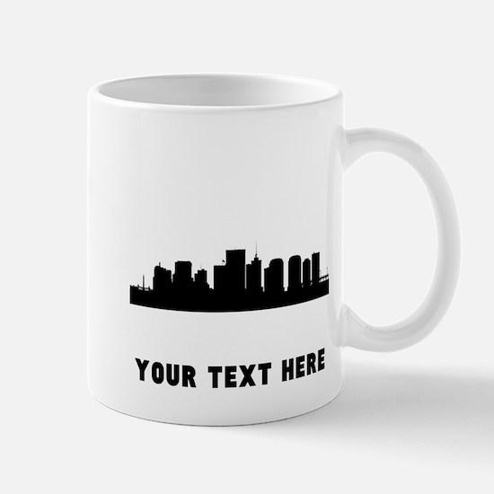 Richmond Cityscape Skyline (Custom) Mugs