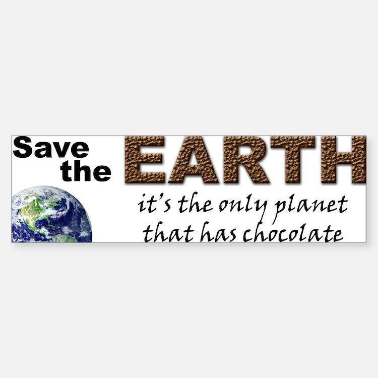Save the Earth Bumper Bumper Bumper Sticker