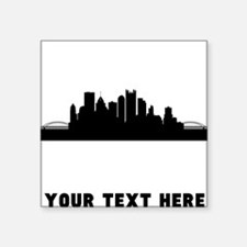 Pittsburgh Cityscape Skyline (Custom) Sticker