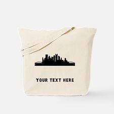 Pittsburgh Cityscape Skyline (Custom) Tote Bag