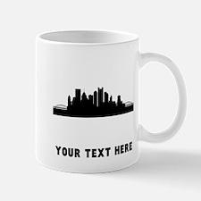Pittsburgh Cityscape Skyline (Custom) Mugs