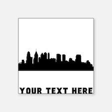 Philadelphia Cityscape Skyline (Custom) Sticker