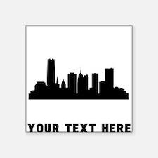 Oklahoma City Cityscape Skyline (Custom) Sticker