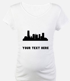 Oklahoma City Cityscape Skyline (Custom) Shirt