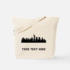 New York Cityscape Skyline (Custom) Tote Bag