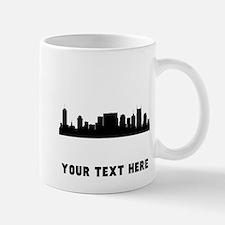 Nashville Cityscape Skyline (Custom) Mugs