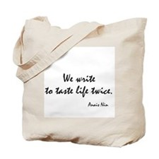 Anais Nin Quote Tote Bag