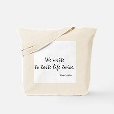 Anais Nin Quote Tote Bag
