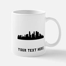 Minneapolis Cityscape Skyline (Custom) Mugs