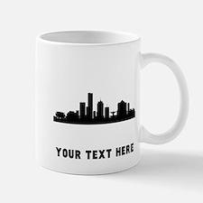 Milwaukee Cityscape Skyline (Custom) Mugs