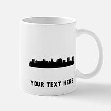 Madison Cityscape Skyline (Custom) Mugs