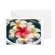 Your First Roza Greeting Card