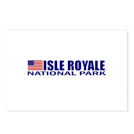 Isle Royale National Park Postcards (Package of 8)