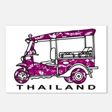 Tuk Tuk Thailand Postcards (Package of 8)