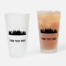 Las Vegas Cityscape Skyline (Custom) Drinking Glas