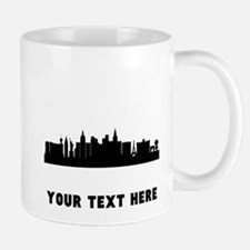 Las Vegas Cityscape Skyline (Custom) Mugs