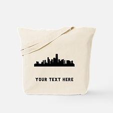 Jersey City Cityscape Skyline (Custom) Tote Bag