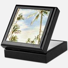Cute Hawaiian Keepsake Box