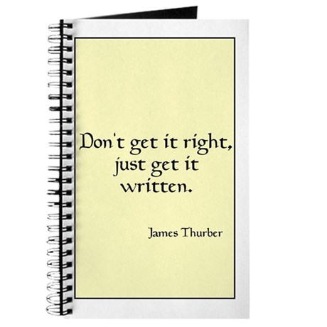 James Thurber Quote Journal