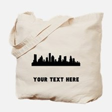 Houston Cityscape Skyline (Custom) Tote Bag