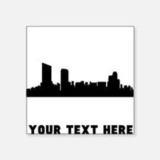 Grand Rapids Cityscape Skyline (Custom) Sticker