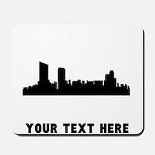 Grand Rapids Cityscape Skyline (Custom) Mousepad