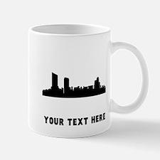 Grand Rapids Cityscape Skyline (Custom) Mugs