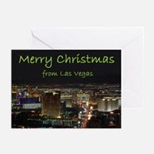 Merry Christmas from Las Vegas Cards 10