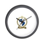 BRIARD Family Crest Wall Clock