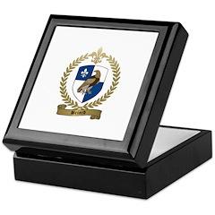BRIARD Family Crest Keepsake Box