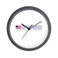 Great Smoky Mountains Nationa Wall Clock