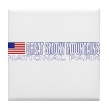 Great Smoky Mountains Nationa Tile Coaster