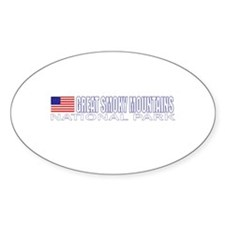 Great Smoky Mountains Nationa Oval Decal