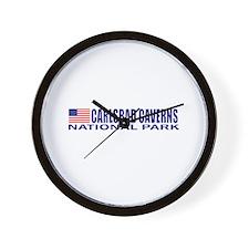 Carlsbad Caverns National Par Wall Clock