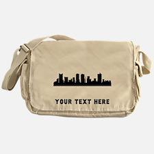 Fort Worth Cityscape Skyline (Custom) Messenger Ba