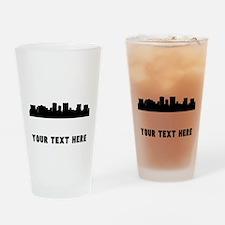 El Paso Cityscape Skyline (Custom) Drinking Glass