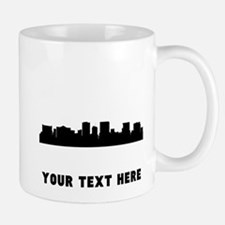 El Paso Cityscape Skyline (Custom) Mugs