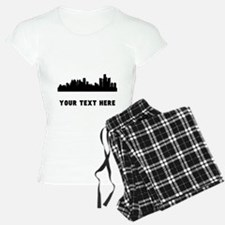 Detroit Cityscape Skyline (Custom) Pajamas