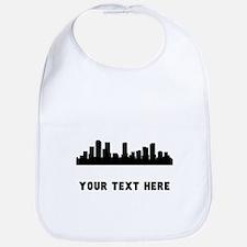 Denver Cityscape Skyline (Custom) Bib