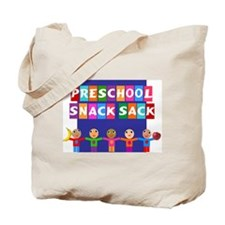 Preschool Snack Tote Bag