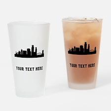 Corpus Christi Cityscape Skyline (Custom) Drinking